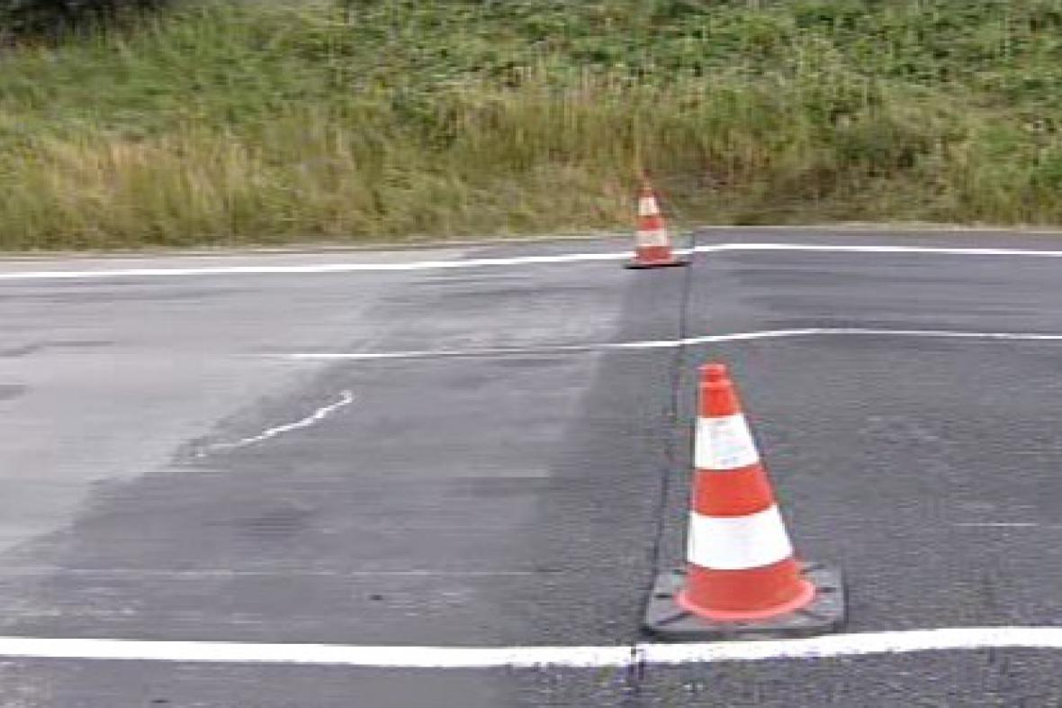 Poškozená dálnice