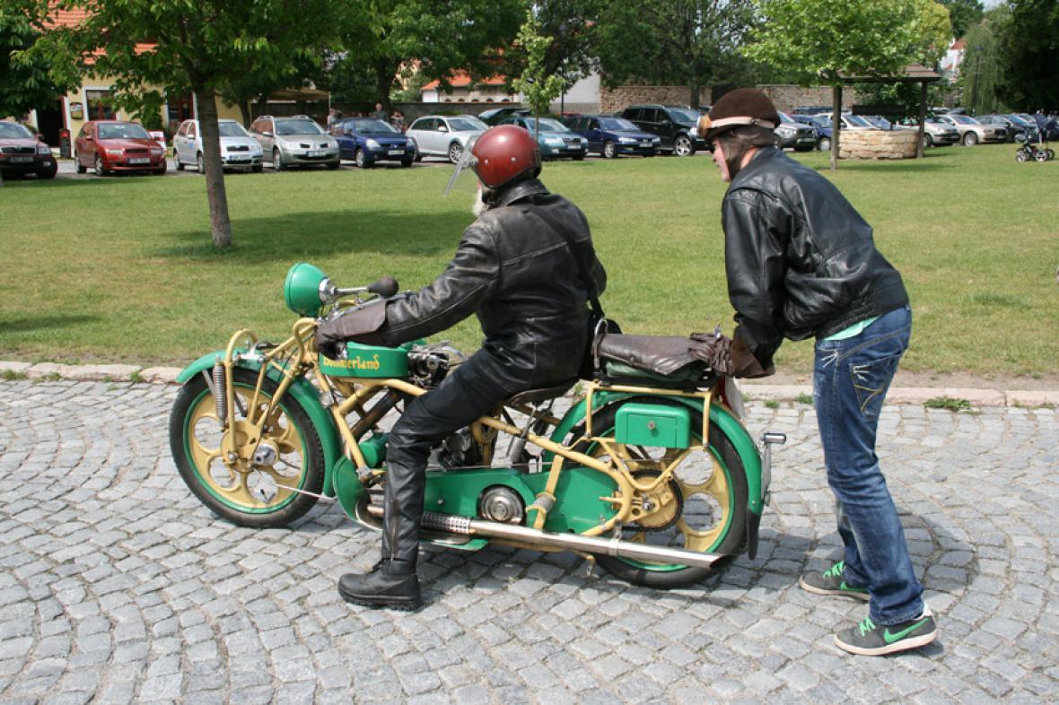 Ze srazu motocyklů Böhmerland