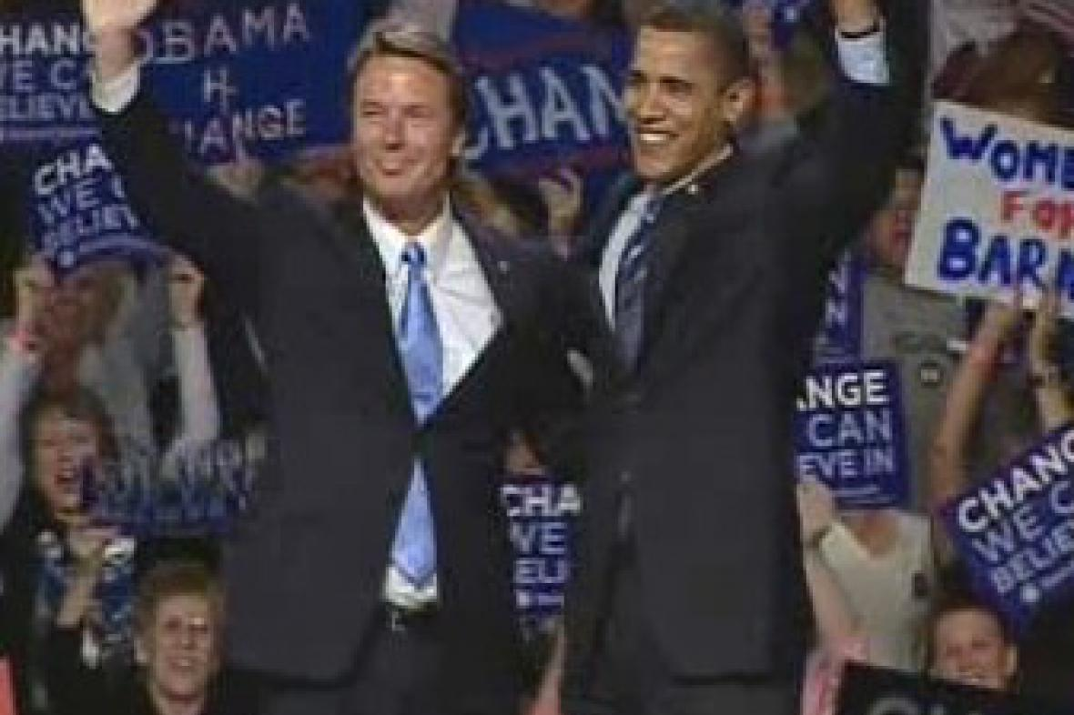 John Edwards a Barack Obama
