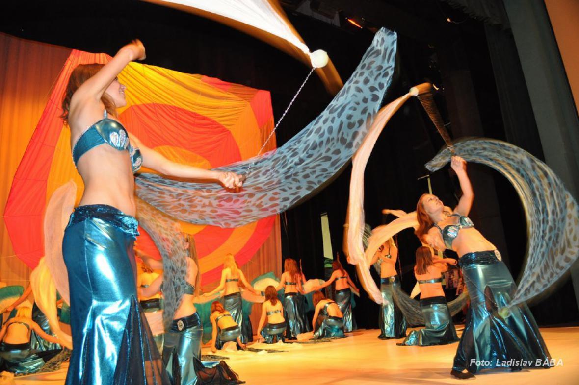 Z taneční soutěže v Lounech
