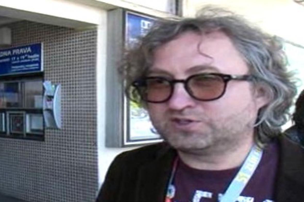 Režisér Jan Hřebejk na festivalu ve Zlíně