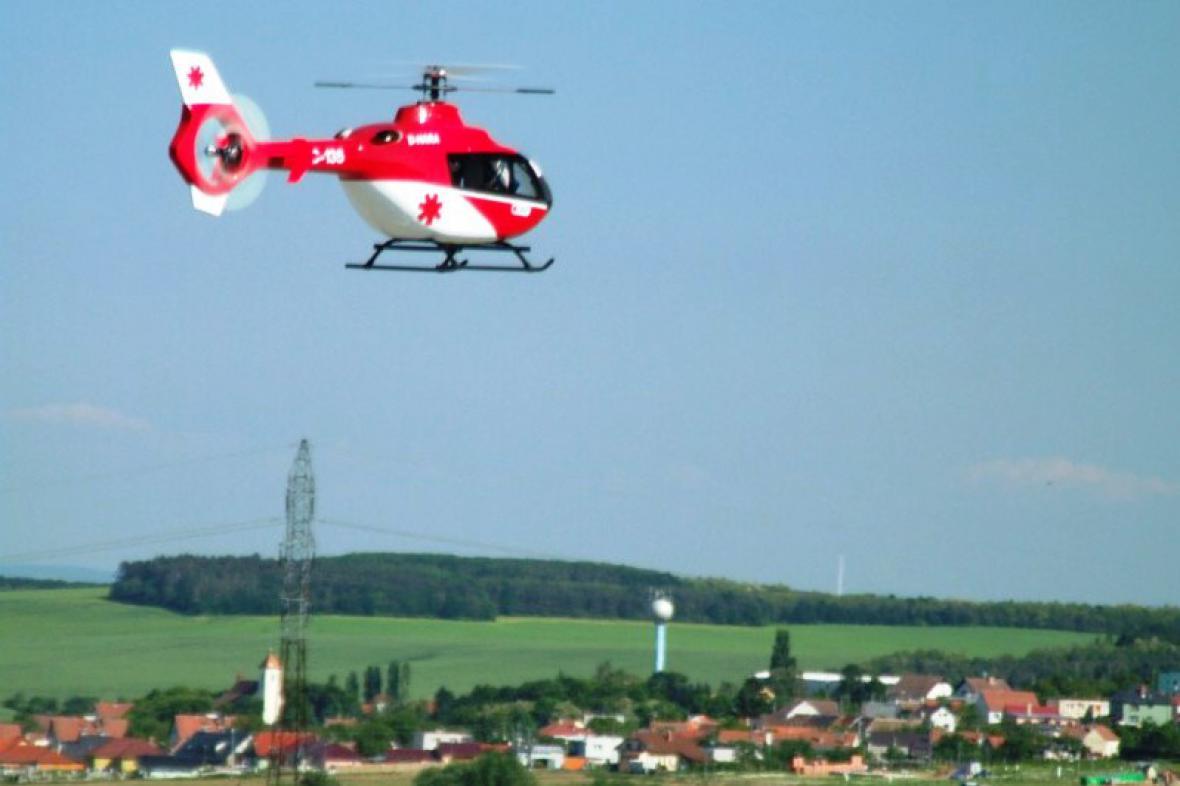 Model vrtulníku