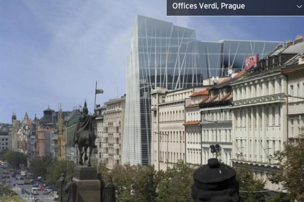 Vizualizace nové stavby (původní)