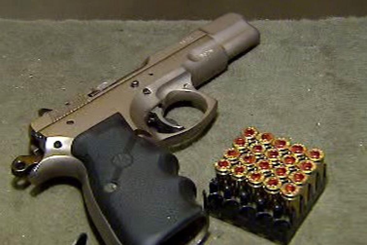 Pistole s náboji