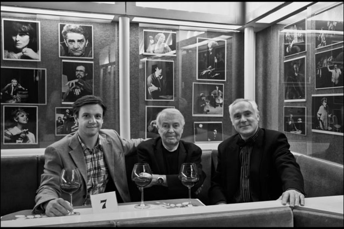 Ondřej Kavan, Pavel Kohout a Miloš Černý