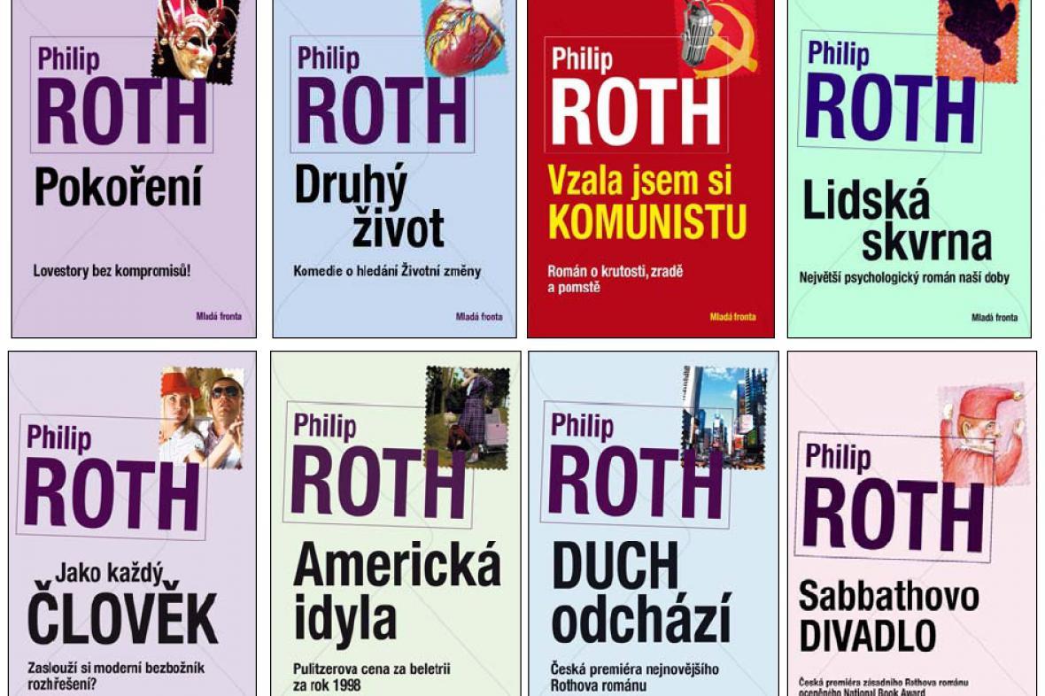 České překlady knih Philipa Rotha