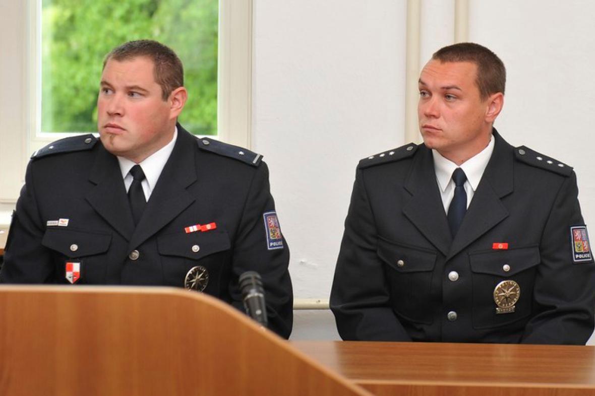 Jan Kolstrunk a Jan Kašík u soudu