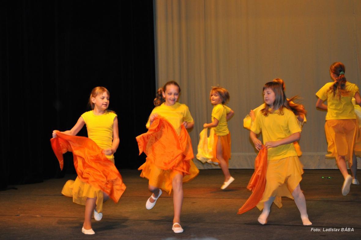 Z vystoupení tanečního oboru ZUŠ Louny