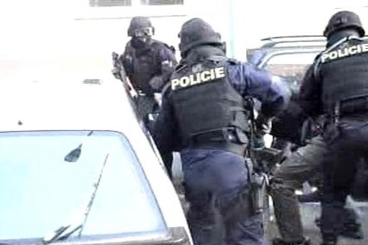 Policejní zákrok