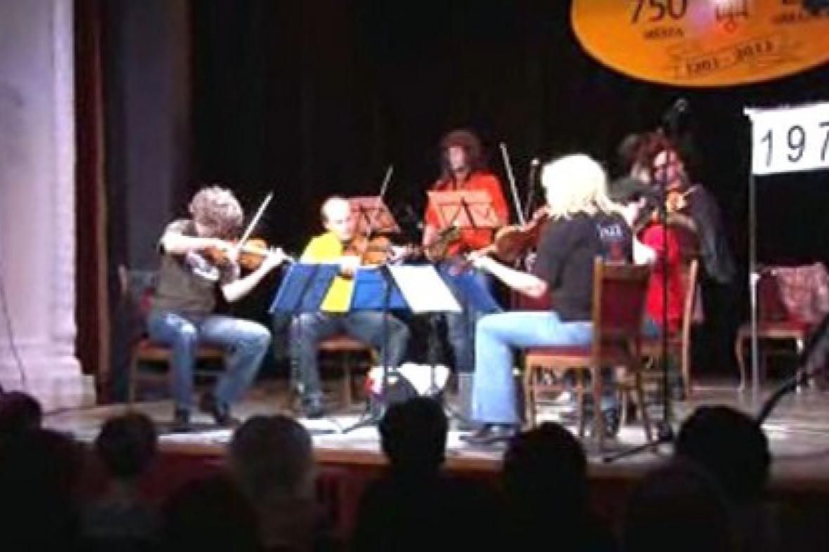 Členové Komorní filharmonie Pardubice