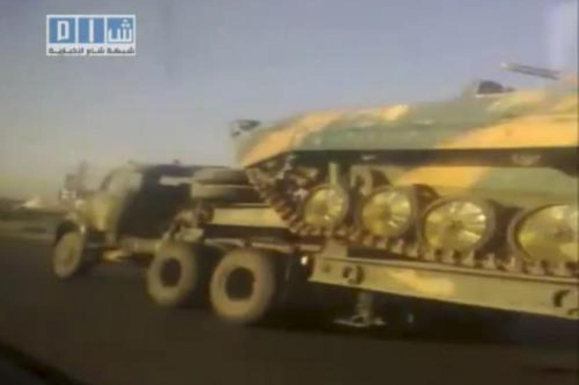 Syrské bojové vozidlo
