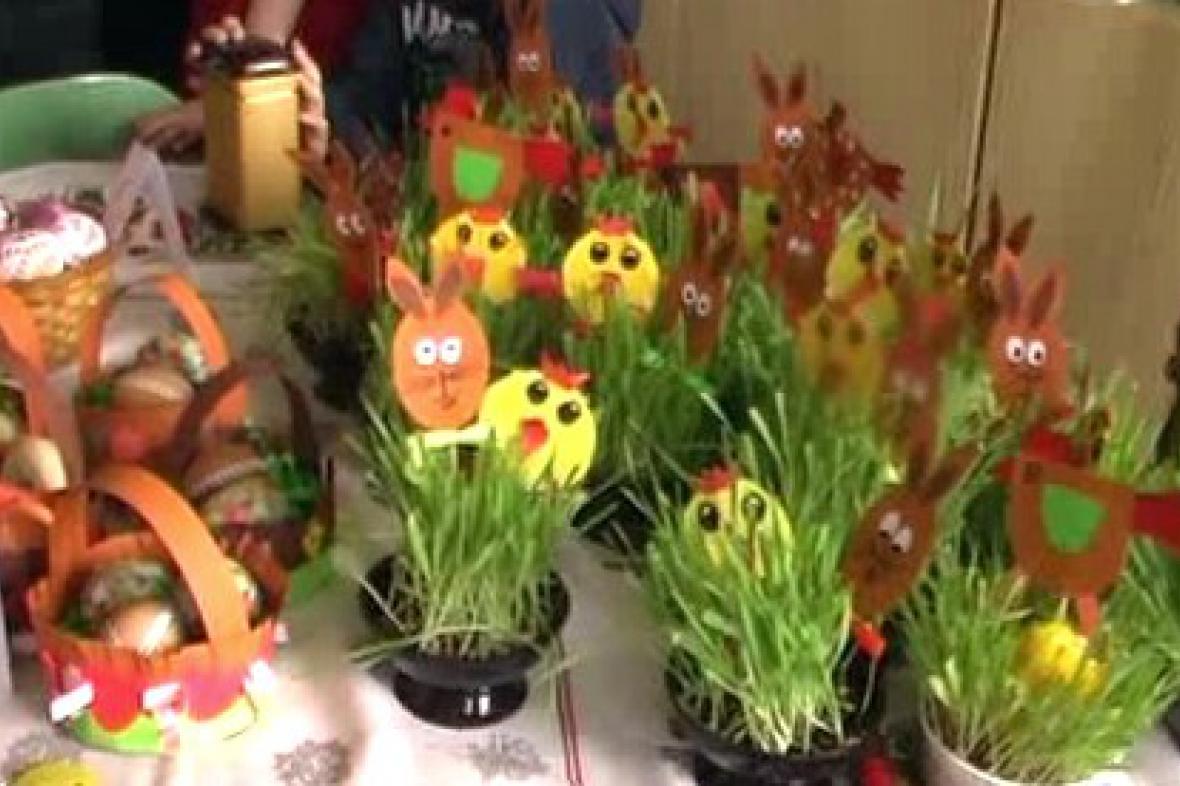 Velikonoční výrobky