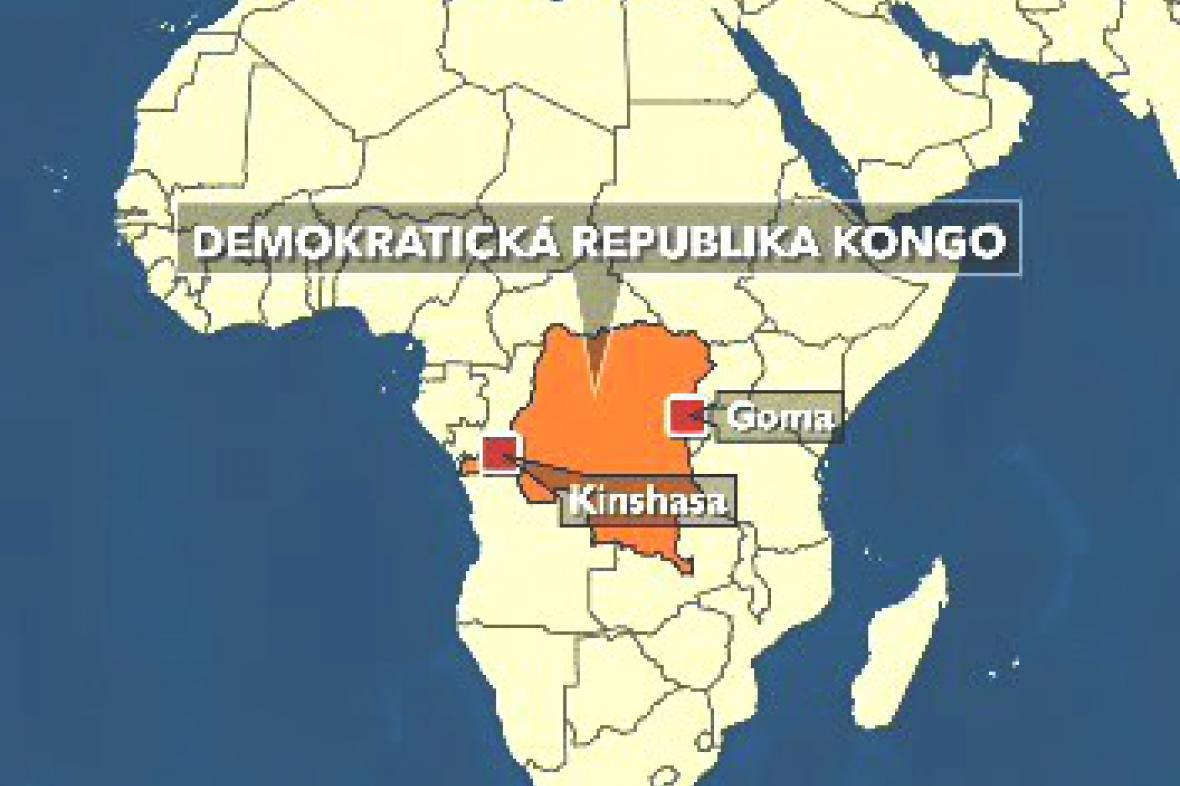 Mapa Konga