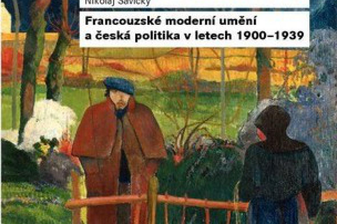 Nikolaj Savický / Francouzské moderní umění ( detail přebalu)