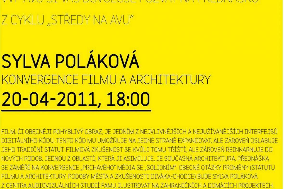 Přednáška Sylvy Polákové