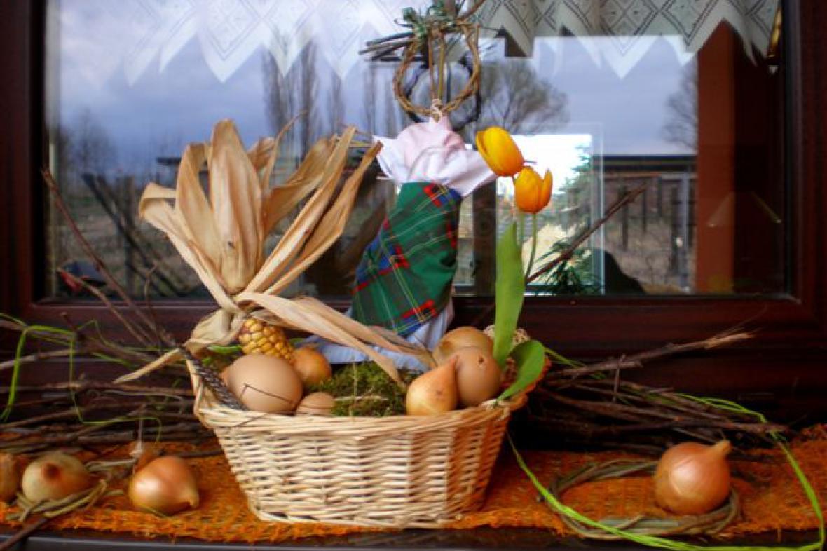 Velikonoční výzdoba - Koštice