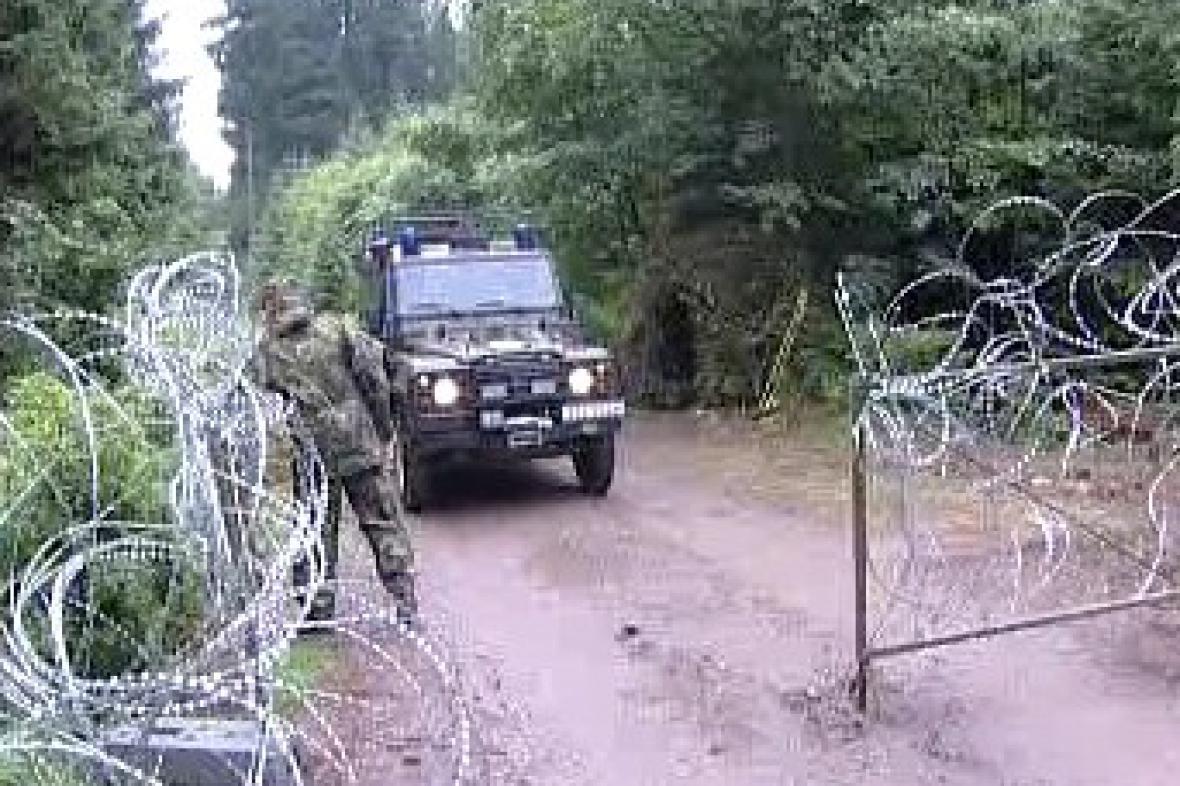 Vojenský prostor v Brdech