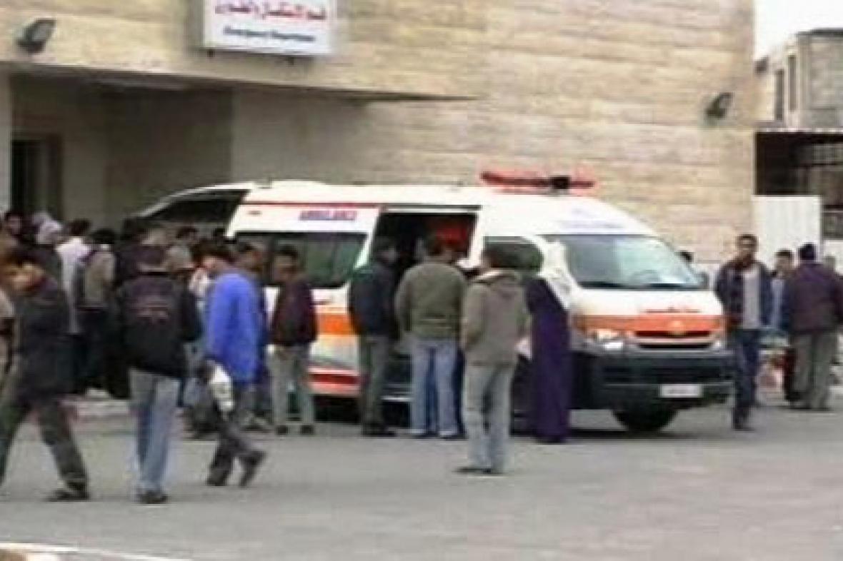 Sanitka v Gaze