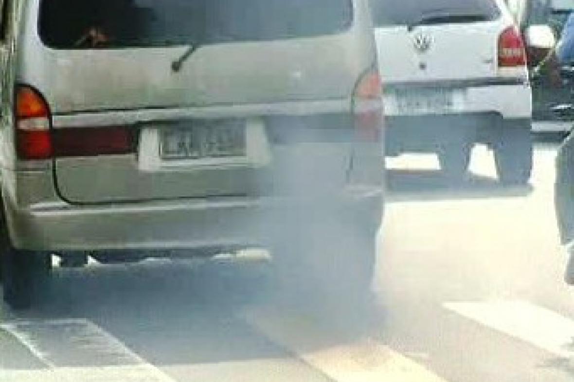 Výfukové plyny