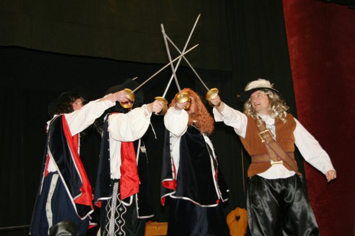 Divadlo v Rozsochách - archivní fotografie
