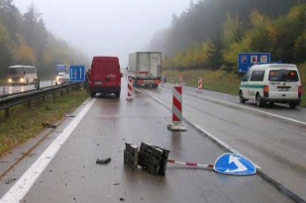 Nehoda na dálnici D1