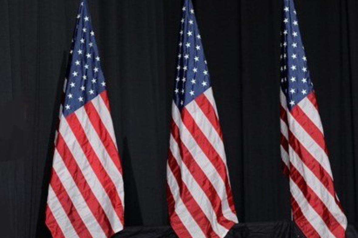 Americké vlajky
