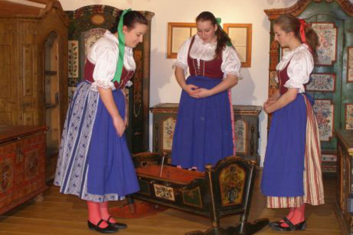 Folklorní soubor Špindleráček - z natáčení DVD