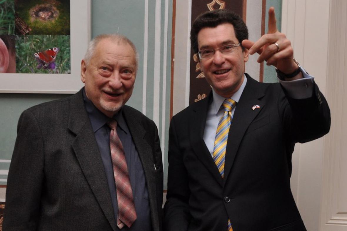 Jan Petránek a Norman Eisen