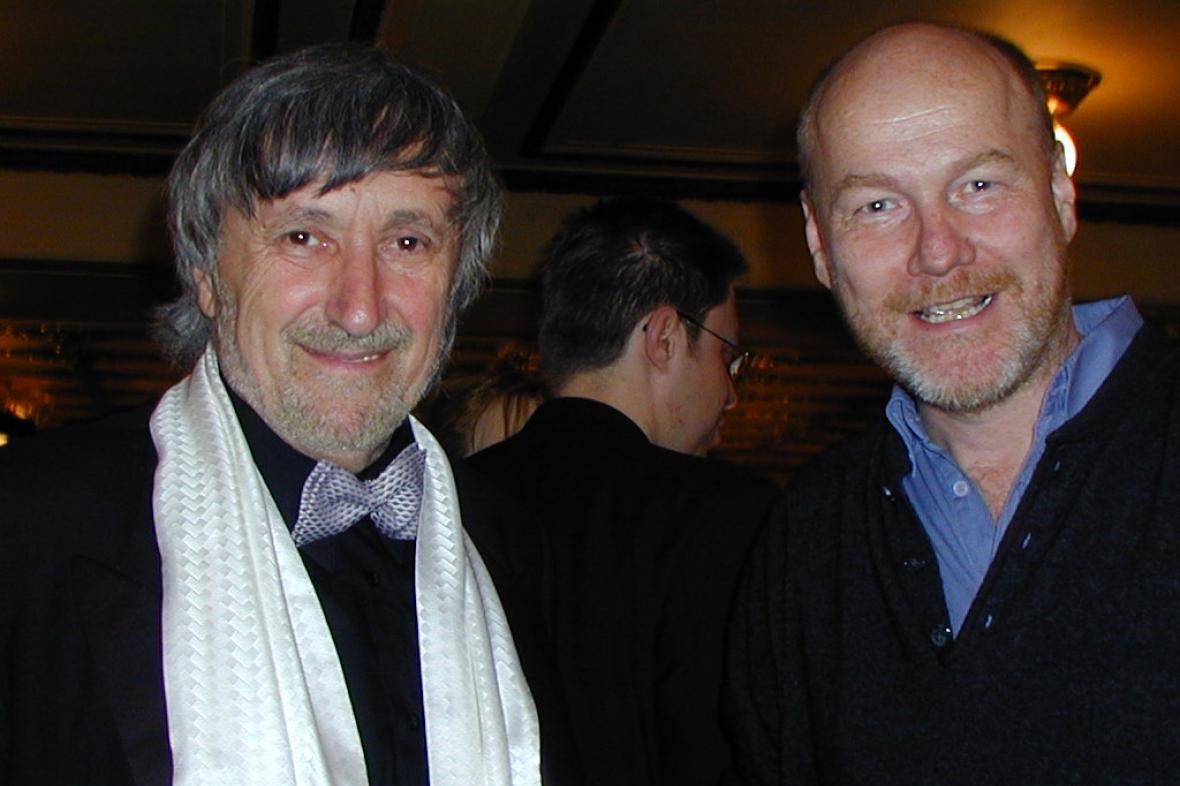 Bedřich Ludvík s Jurajem Jakubiskem