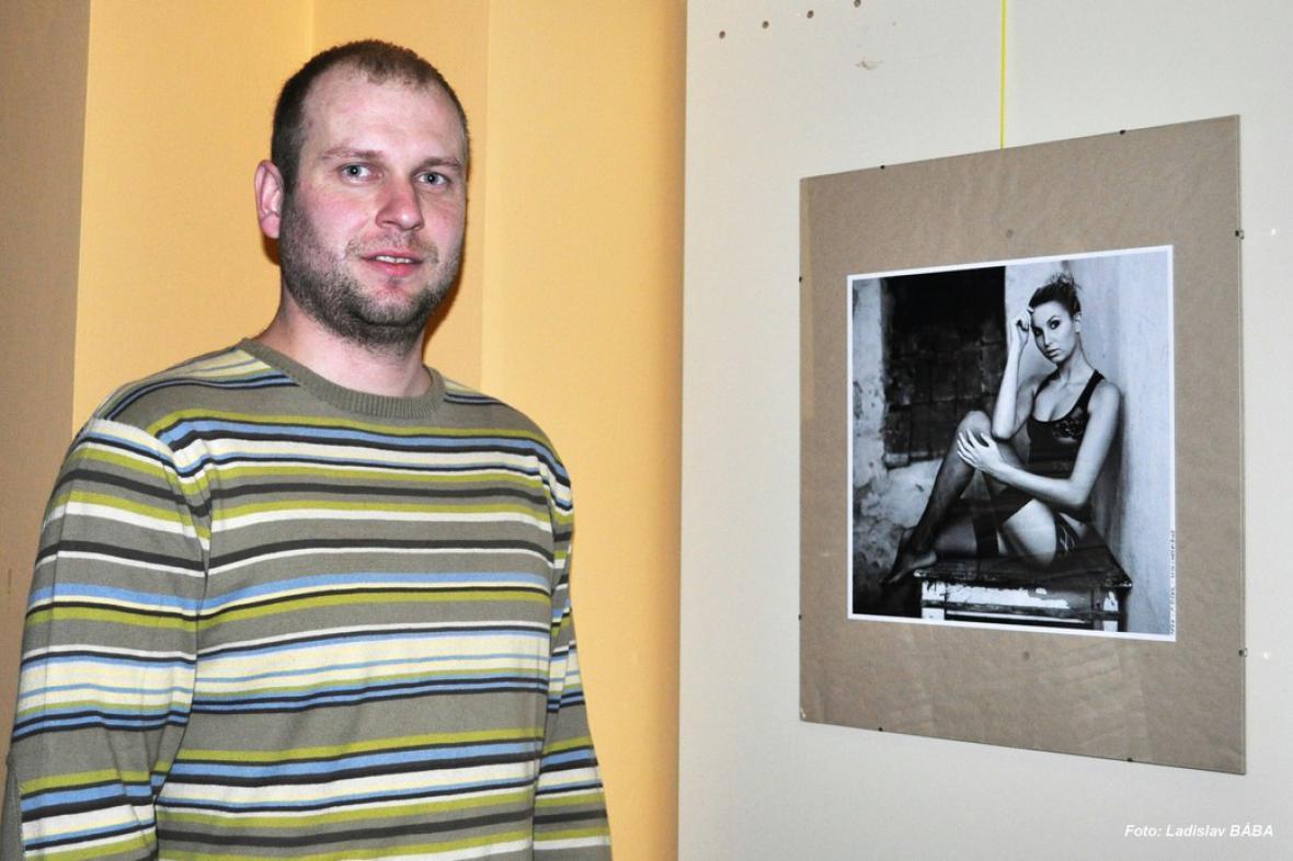 Petr Žižák - výstava v lounském divadle