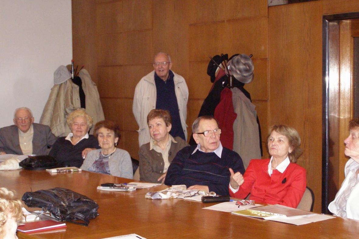 Lounští rodáci v Praze