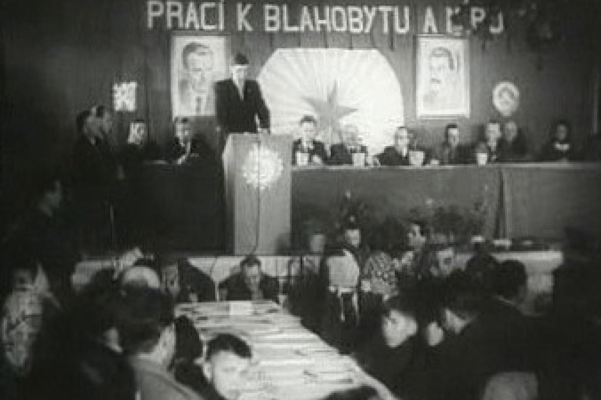 Kolektivizace v 50. letech