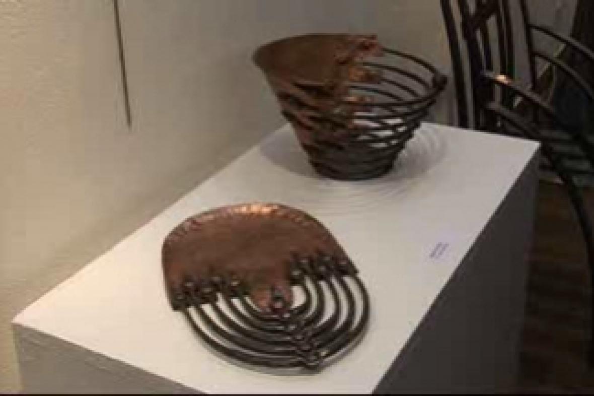 Výstava práce kovářů