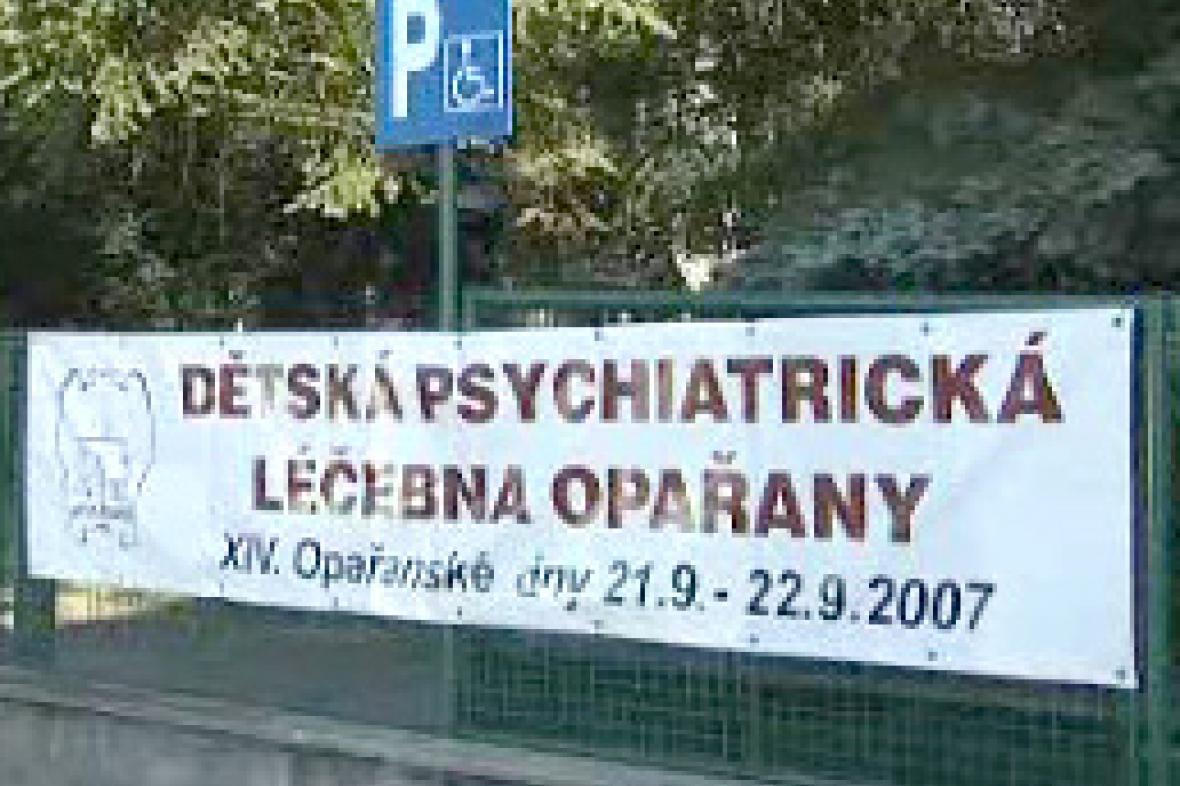 Dětská psychiatrická léčebna v Opařanech