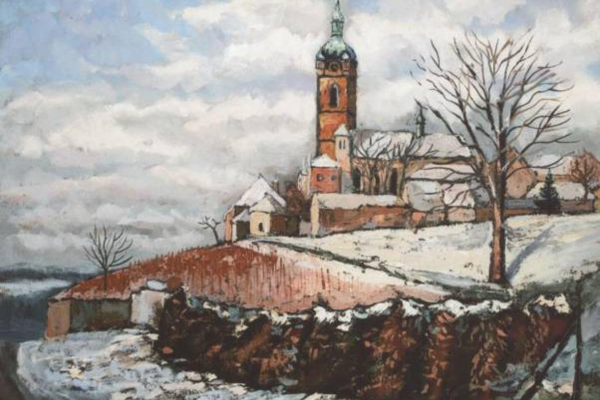 Obraz Vlastimila Týmy - Mělník