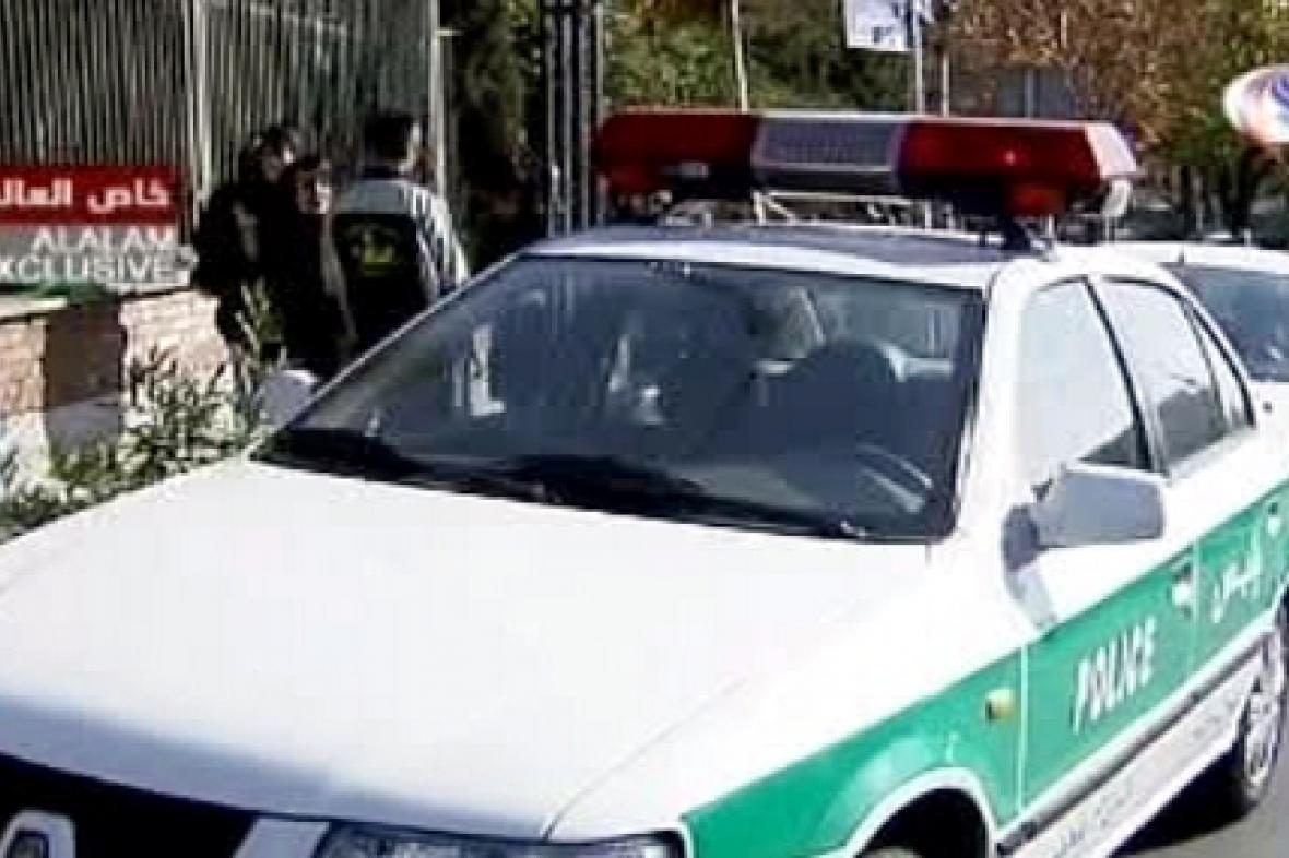 Íránská policie
