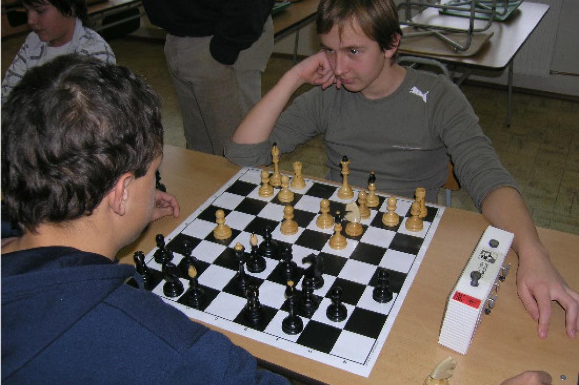 Vánoční soutěž v šachu