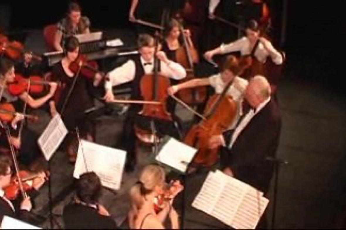 Vánoční koncert orchestru Archi