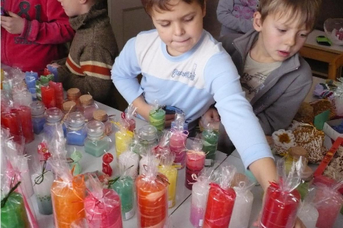 Výrobky chráněných dílen - prodejní výstava