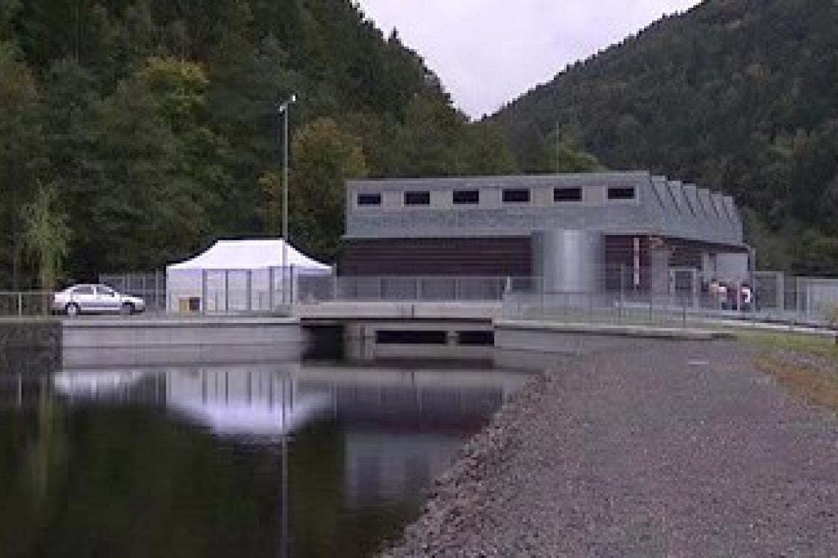 Nová vodní elektrárna