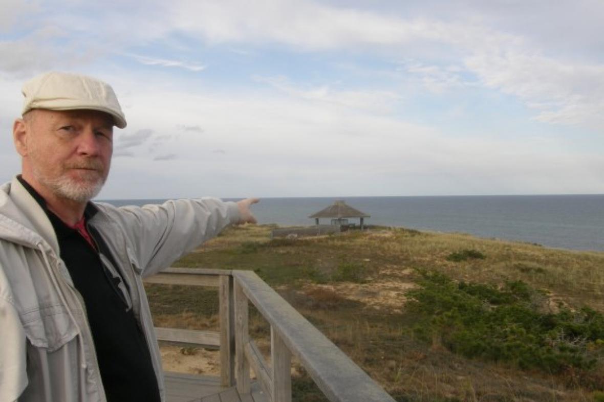 Bedřich Ludvík na Cap Cod