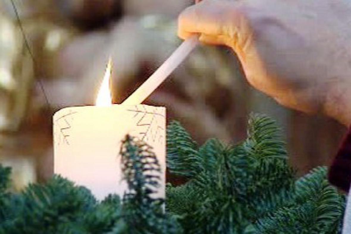 Adventní svíce