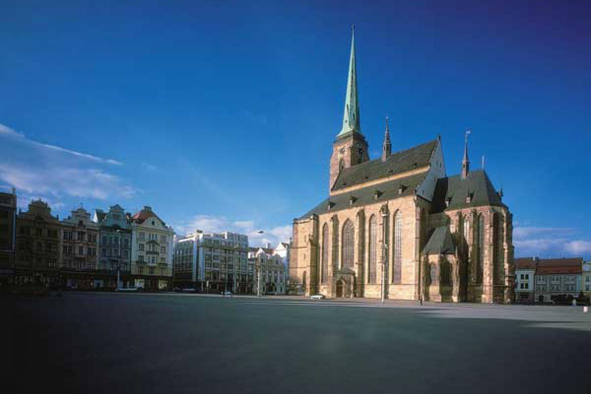 Plzeňské náměstí Republiky