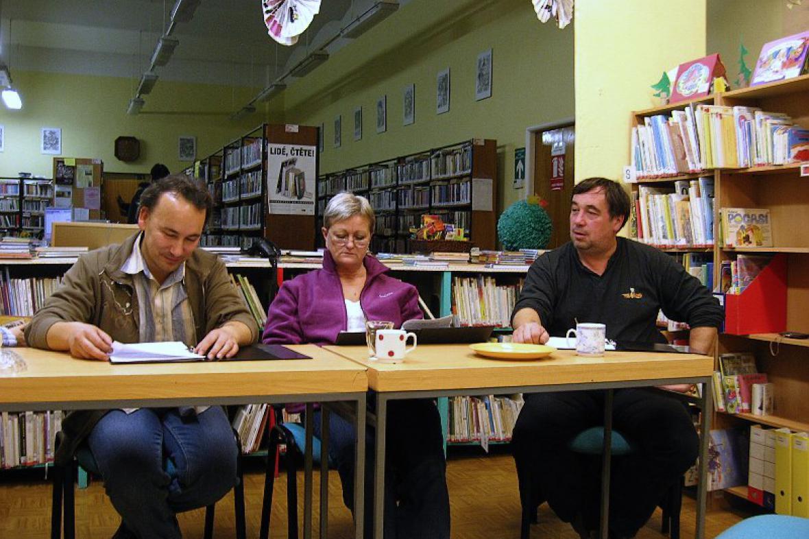 Cestovatelské Po-čtení v libochovické knihovně v říjnu 2010