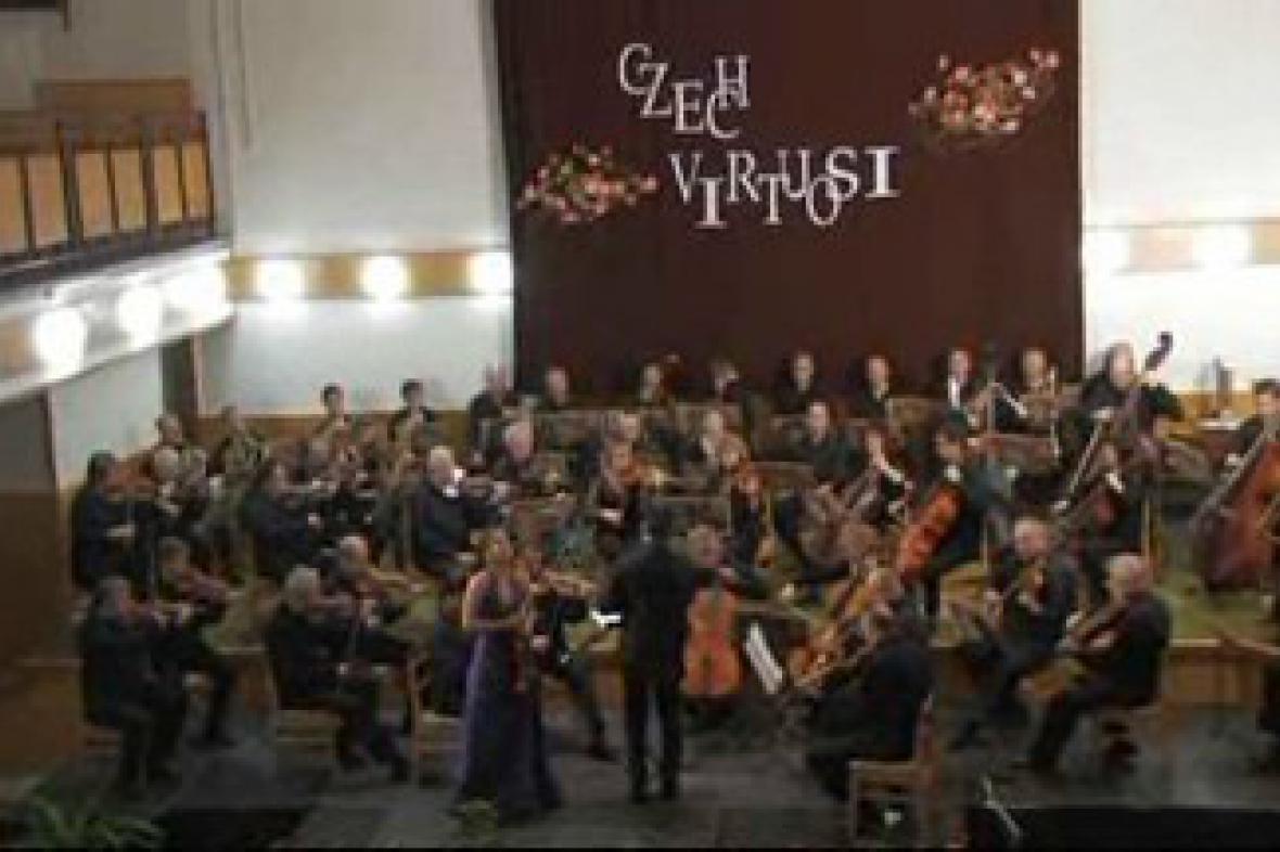 Koncert komorního orchestru Czech Virtuosi