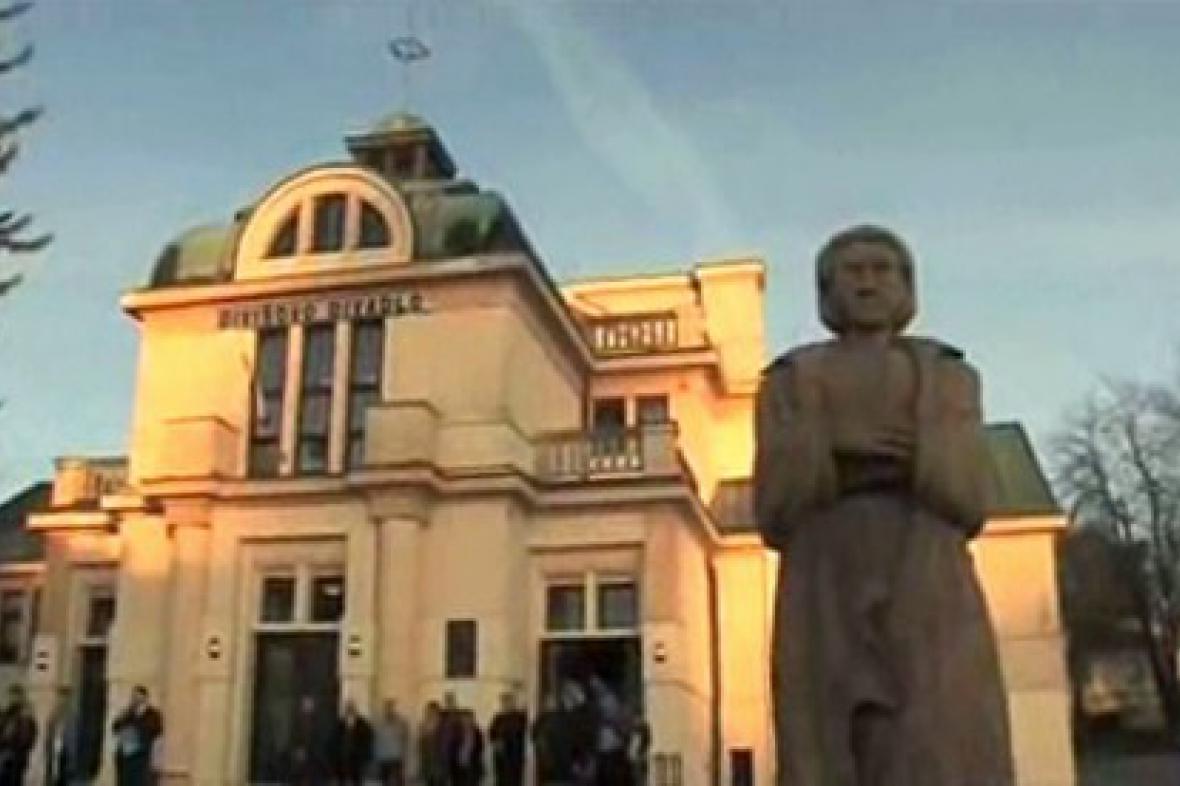 Zrekonstruované divadlo v Žamberku