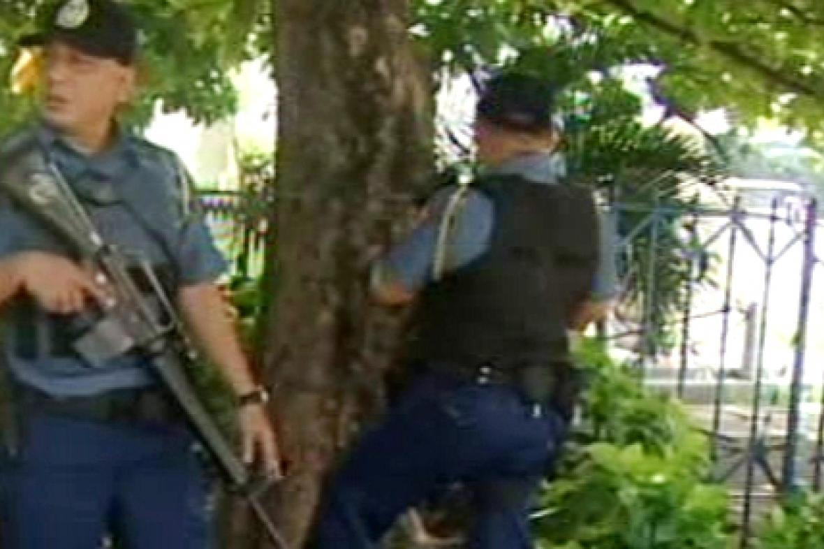 Filipínští policisté