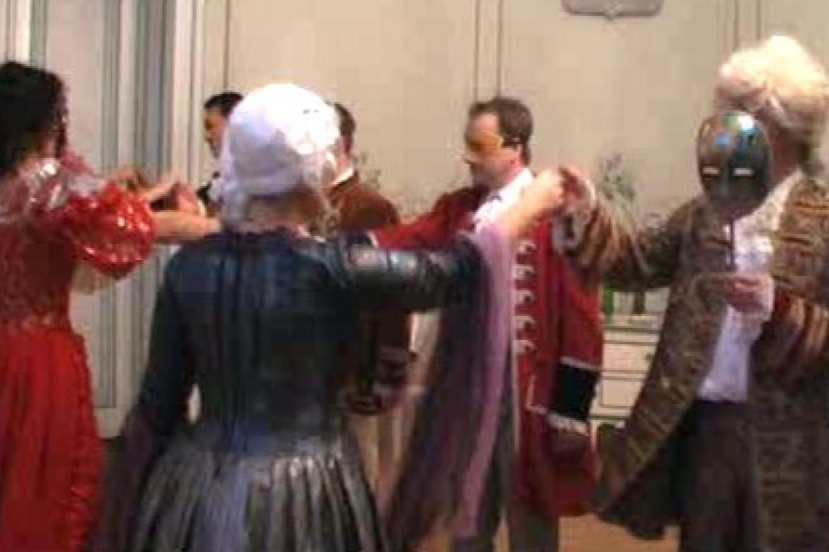 Ples upírů na zámku v Náměšti na Hané