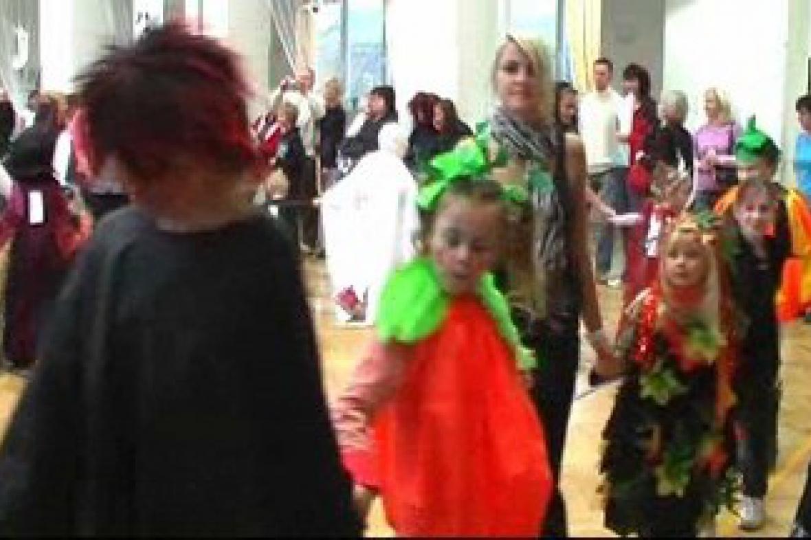 Halloweenská párty ve Slatinicích