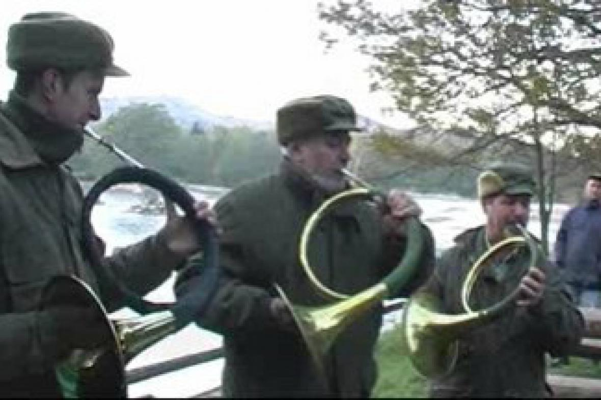 Výlov Velkého rybníka v Černé Vodě